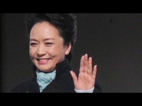 China's glamorous new first lady