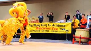 Five Animals Kung Fu Demo and Competition Team at Tat Wong 2017 Championship.