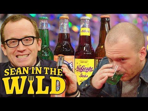 Chris Gethard and Sean Evans Compete in a Blind Soda Taste-Test   Sean in the Wild