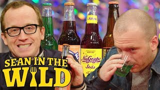 Chris Gethard and Sean Evans Compete in a Blind Soda Taste-Test | Sean in the Wild
