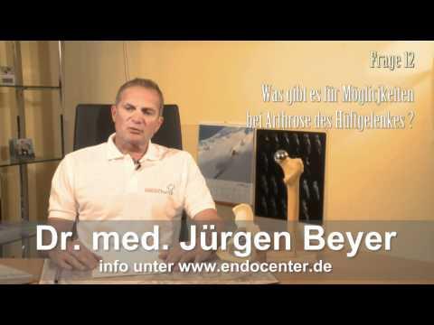 Entfernung von Hüftendoprothese