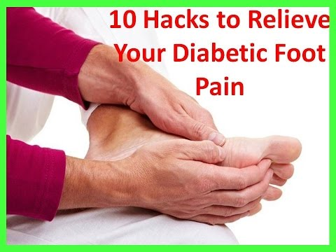 Video Diabetic Foot Pain Symptoms and Treatment | Diabetes foot pain