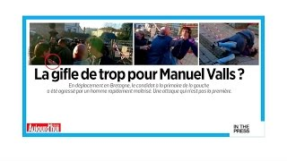 French papers: A small slap for Valls, a major PR blow for his campaign