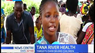 Tana river county government kicks off polio vaccination drive targeting over 84,000 children