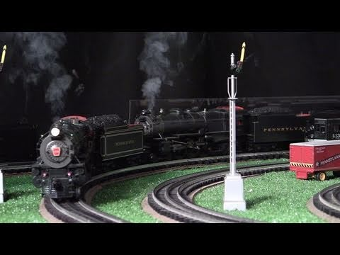 MTH Premier PRR K4s O-Gauge Steam Locomotives Double-Headed in True HD 1080p