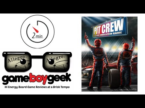 The Game Boy Geek's Allegro (2-min) Review of Pit Crew