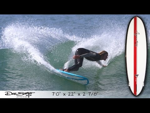 Signature Board Tech with J-Bay shaper DES SAWYER – 7ft funboard