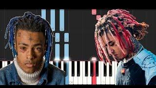 XXXTENTACION - Arms Around You ft Lil Pump, Maluma & Swae Lee (Piano Tutorial)