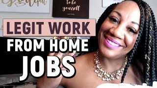 Work From Home Jobs That Are Legit And Free