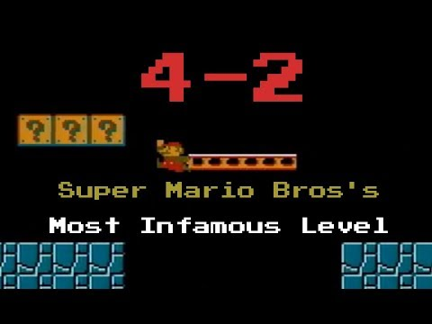 Super Mario Bros 4-2 vs. speedrunners