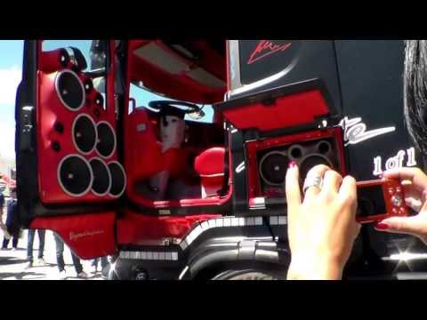 misano 2013 scania absolute acconcia impianto stereo hd
