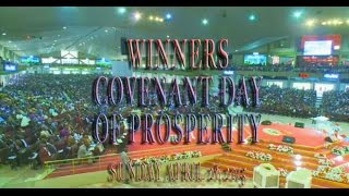 Bishop Oyedepo:Covenant Day Of Prosperity April 26,2015