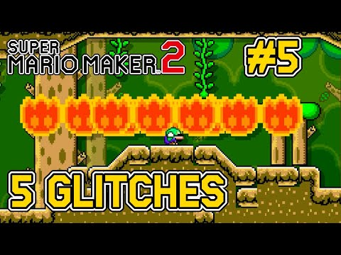 5 Glitches In Super Mario Maker 2 [#5] - Icay,ClipBest com