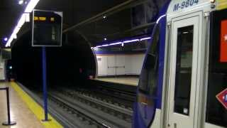 preview picture of video 'Metro de Madrid 9799 por Coslada Central'