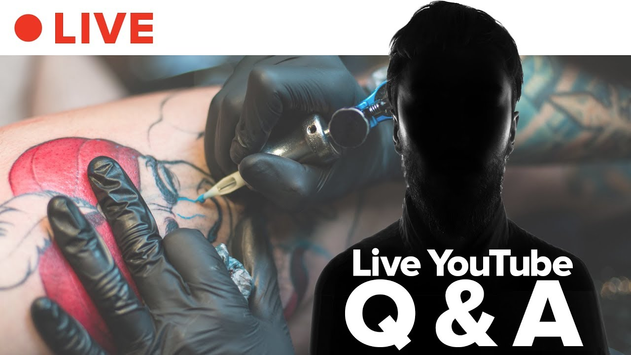 Ask Tattoo Artists Anything • LIVE thumbnail