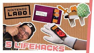 Nintendo Labo: 5 dumme Lifehacks, die dein Life so gar nicht hacken