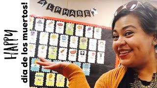 Teacher Vlog: Episode 15 | New Month, New Decor, And Fall Bulletin Boards!| First Grade Bound