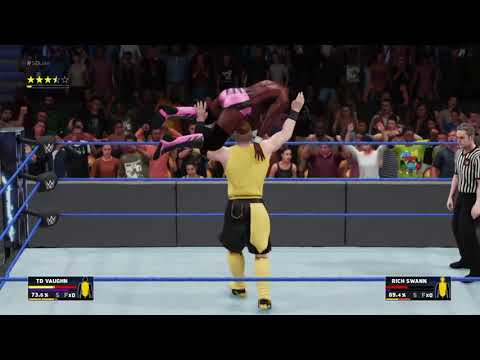 WWE 2K18 MY CAREER MODE - VAUGHN VS RICH SWANN