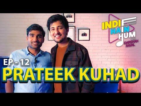 Indie Hain Hum with Darshan Raval | Episode - 12 - Prateek Kuhad | Red Indies | Red FM