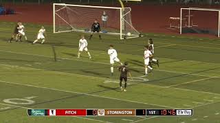Boys' soccer highlights: Stonington 4, Fitch 1