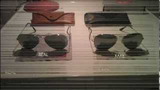 How to recognize Ray Ban aviator 3025 REAL vs. FAKE