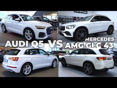 Audi Q5 vs Mercedes AMG GLC 43 2021