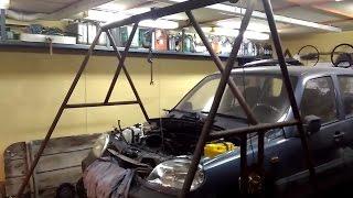 Подъемник для ремонта автомобилей своими руками