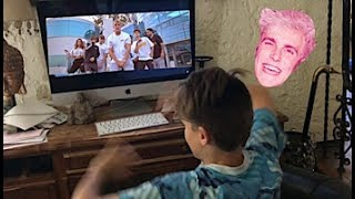 Kid Goes Crazy Over Jake Paul's Song