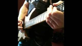 "Cipher System recording guitar for the new Album ""Communicate the Storms"" - Oct 2010"