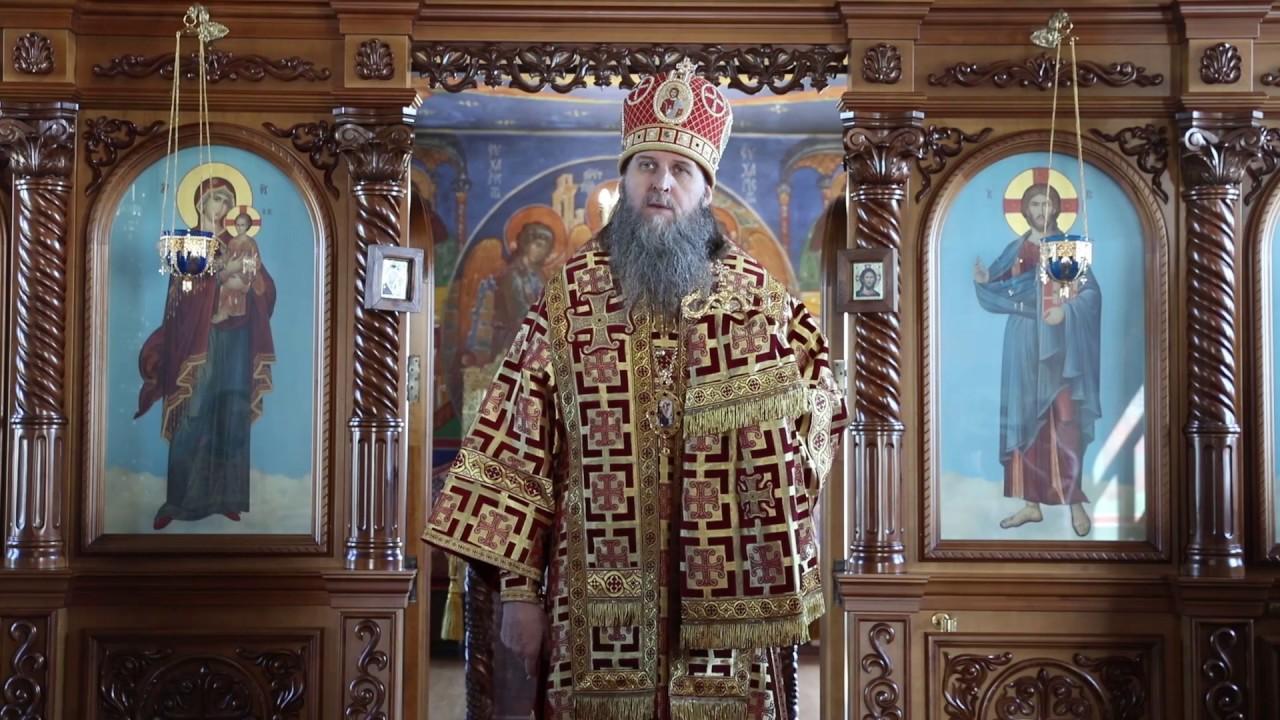 Литургия в храме поселка Лебяжье. Проповедь митрополита Даниила