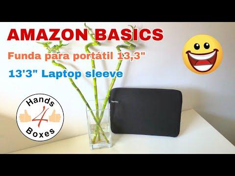 AMAZON BASICS - UNBOXING - Funda ordenador portátil (13.3
