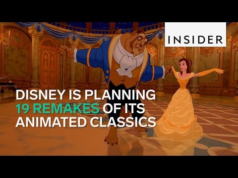 Disney is remaking 19 of its animated movies