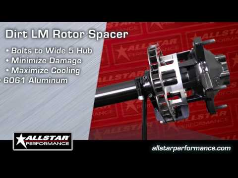Allstar Performance DLM Brake Rotor Spacer