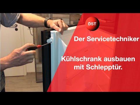 Ausbau eines Kühlschrankes/ Kühlkombination