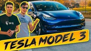 Tesla Model 3 - ЛУЧШАЯ Машина 2018? Тест-драйв, обзор автопилота и новинки c Павлом Блюденовым [4K]