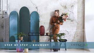Emerald Eternal Green - Step By Step - Emerald Bouquet - Part 5. Inspiration For 2020.
