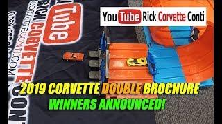 CORVETTE BROCHURE WINNERS FROM HOTWHEELS RACES