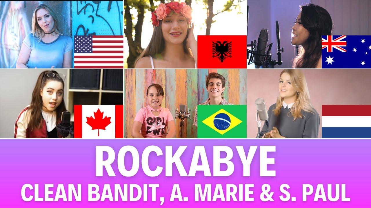 Quem Canta Melhor? Cover Rockabye (Albânia, Austrália, Brasil, Canadá, EUA, Países Baixos)