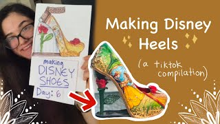 Making Disney Shoes - TikTok Series Compilation