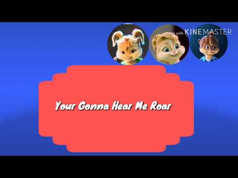 Roar (Piano) The Chipmunks and The Chipettes