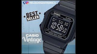 cbbbc5c95b8 Relógio Casio Vintage Unissex B650WB-1BDF - RELÓGIOS DE FÁBRICA