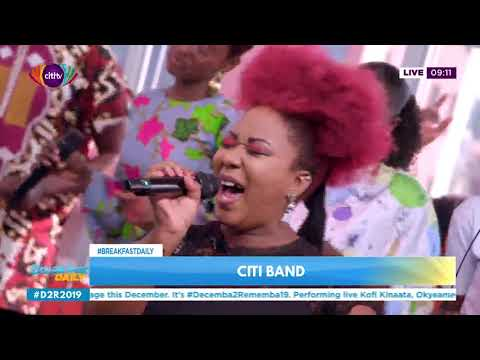 Apiorkor ft Citi Band - Turn your lights down low (Bob Marley cover) | Breakfast Daily