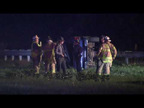 SSPTV News - Fatal 1 car MVA: I-81 151 south on ramp