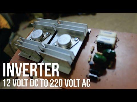 Cara Membuat Rangkaian Inverter Dc 12v To Ac 220v