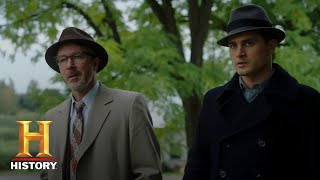 Project Blue Book: Dr. Hynek Learns the Truth About the Skinwalker Curse (Season 2) | History