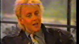 Roger Taylor Interview 1986 Part 1