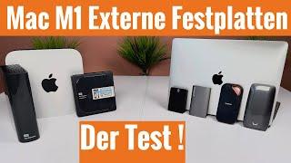 Externe SSD MacBook Pro m1 für MacBook Air m1 & Mac Mini m1im Test ! Gute Festplatten für deinen Mac