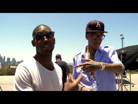 Tinie Tempah Feat Wiz Khalifa Til I M Gone Behind The Scenes Aston Martin Shot Was Big The Norté Blog