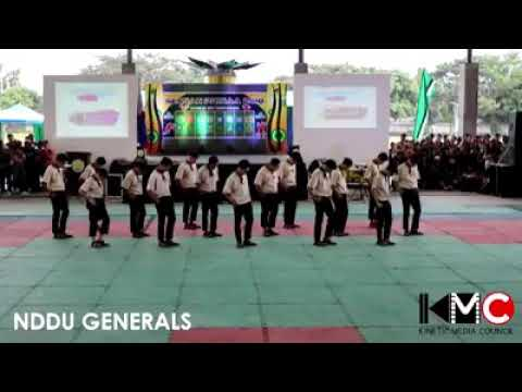 "NDDU GENERALS Presents ""Harana"" Dance Moves"