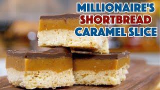 🏆 Millionaire's Shortbread Recipe - Caramel Chocolate Shortbread